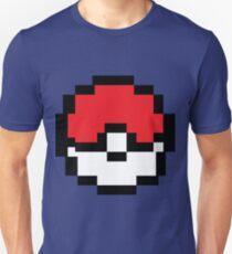 8 bit Pokeball Unisex T-Shirt