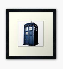 Doctor Who Tardis Call Box  Framed Print