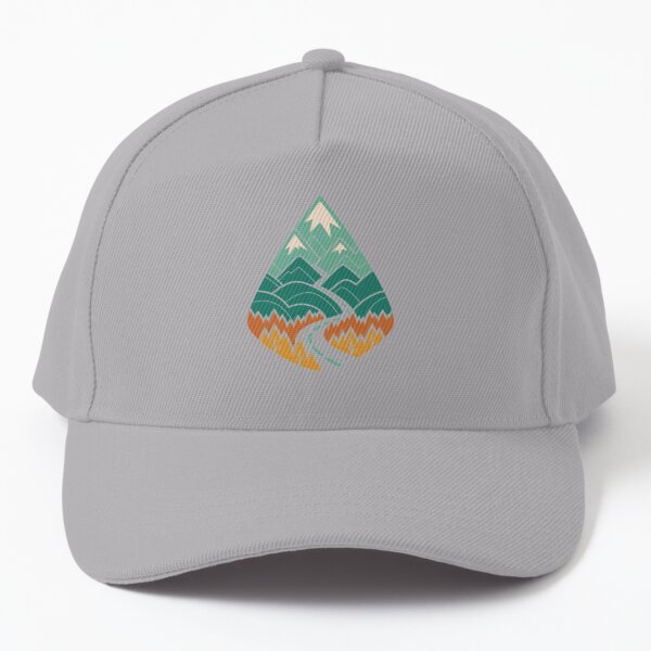 The Road Goes Ever On: Summer Baseball Cap