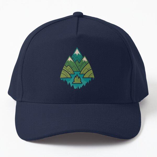 Mountain Lake Baseball Cap