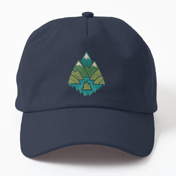 Mountain Lake Dad Hat