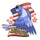 Coo Be An American by ProfessorBees