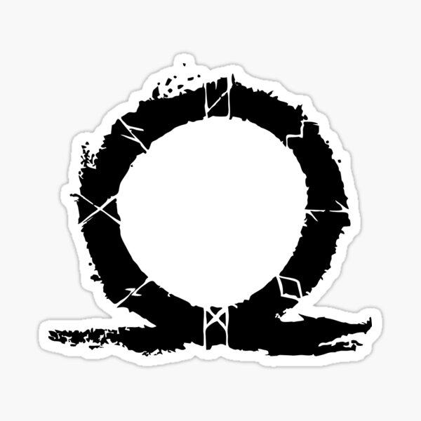 Los más vendidos -God Of War Omega TriangleMerchandise Pegatina