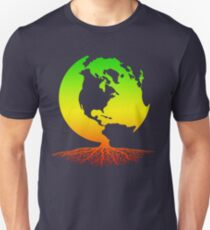 Mother Earth Roots Slim Fit T-Shirt