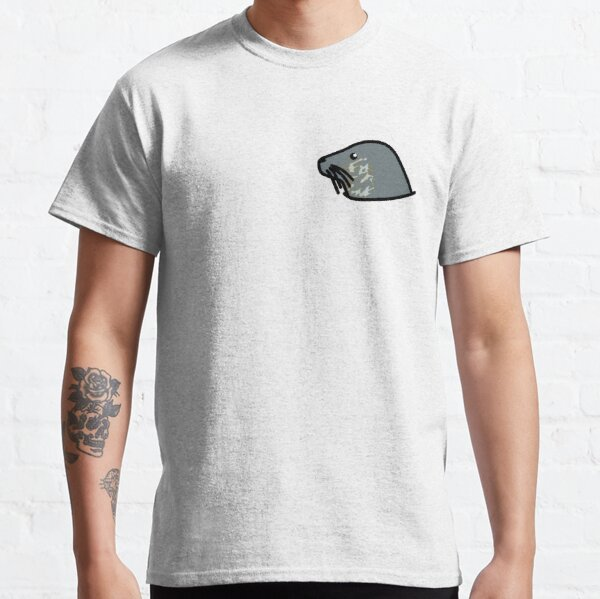 Cute grey seal Classic T-Shirt