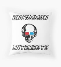Uncommon Interests Logo 3 Throw Pillow