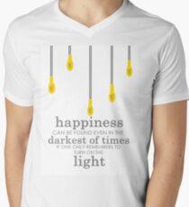 happiness // albus dumbledore Men's V-Neck T-Shirt