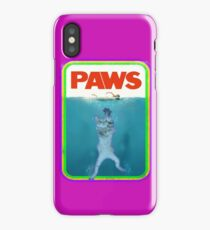 Paws Jaws Movie parody T Shirt iPhone Case/Skin