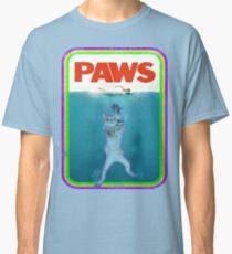 Paws Jaws Movie parody T Shirt Classic T-Shirt