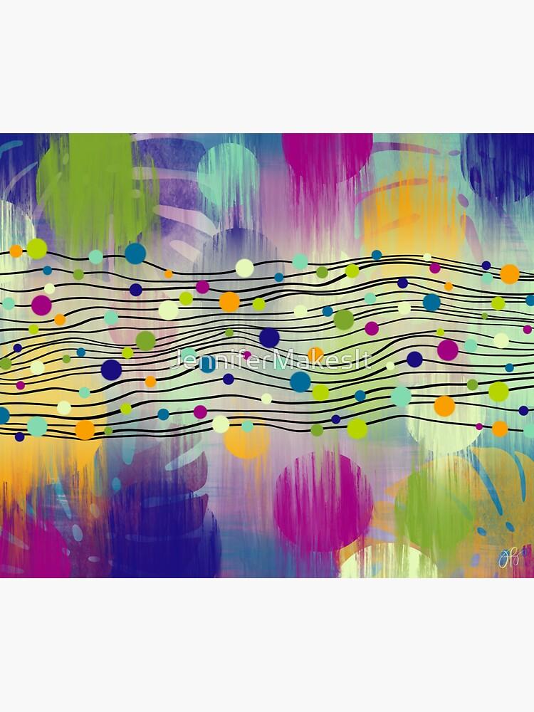 Dot River by JenniferMakesIt
