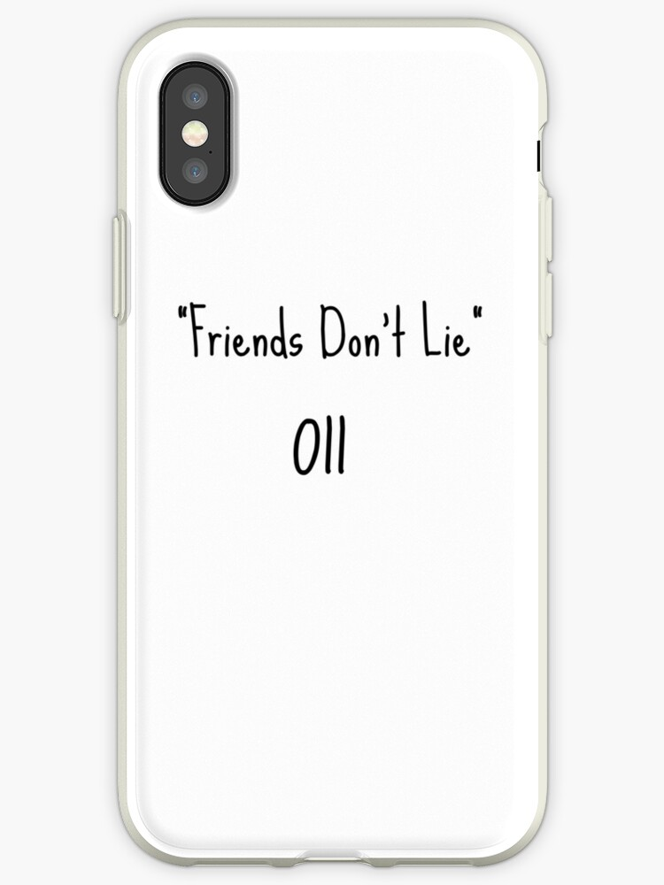coque iphone 6 friends don't lie
