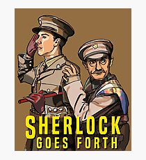 Sherlock Goes Forth Photographic Print