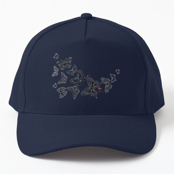 Colorfly Butterfly Bunches Baseball Cap