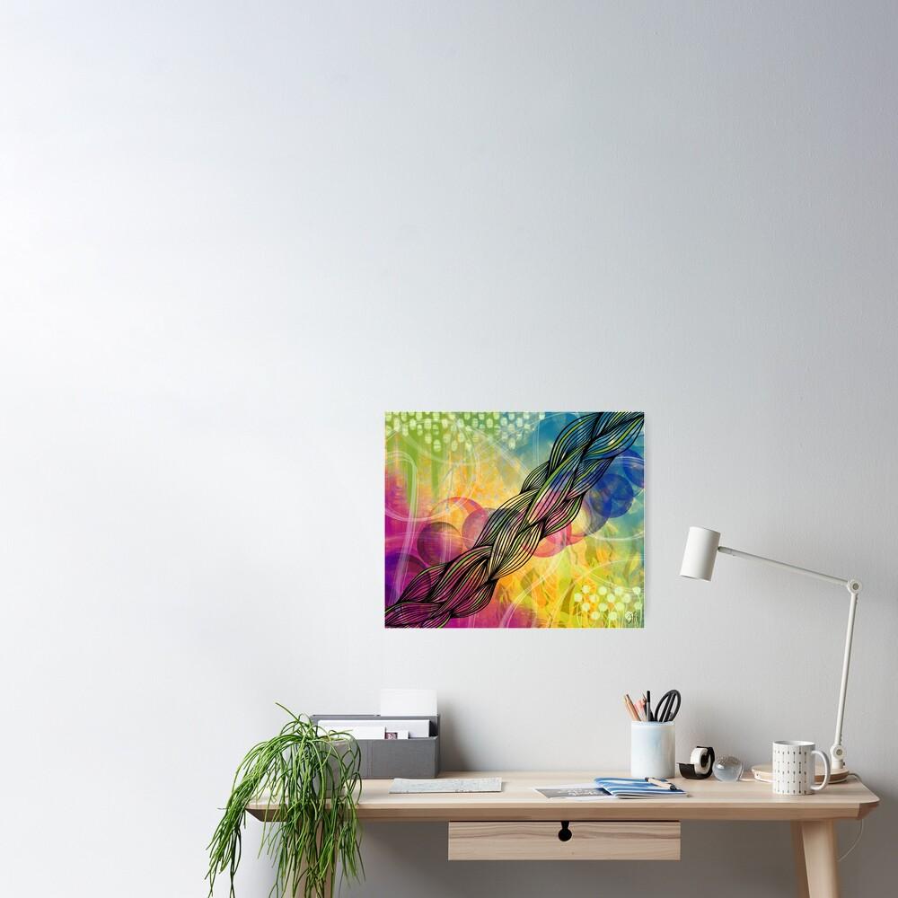 Cosmic Twist Poster