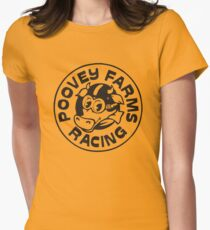 Poovey Farms Racing Womens Fitted T-Shirt