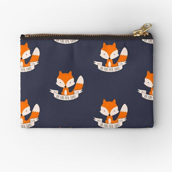 Oh For Fox Sake Zipper Pouch