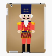 Tin soldier or Nutcracker with drum / nice Nutcracker for Christmas 2016 iPad Case/Skin