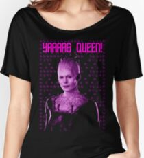 Yas Borg Queen!! Women's Relaxed Fit T-Shirt