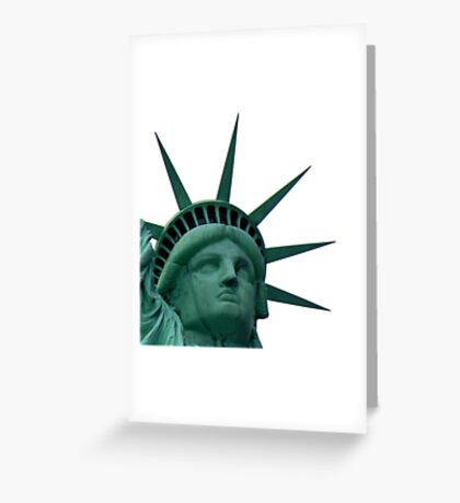 Miss Freedom ~ Part Two Greeting Card