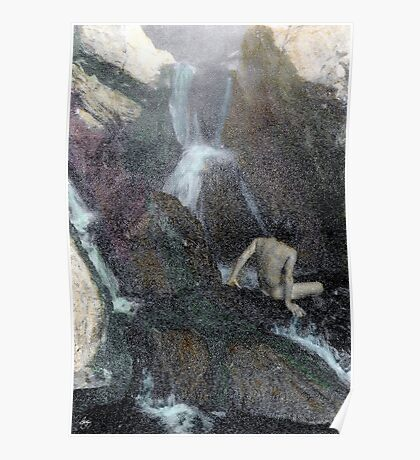 Hotsprings Nude Poster