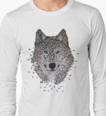 Vektor Wolf Langarmshirt