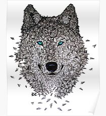 Vector Wolf Poster