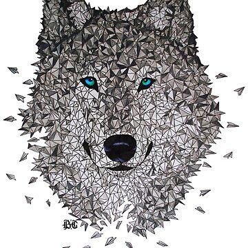 Vector Wolf by brandoncooper