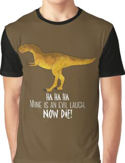 Evil laugh - darker backgrounds Graphic T-Shirt