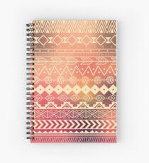 Aztec pattern 01 Spiral Notebook
