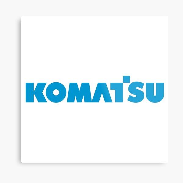 SALE - Komatsu Metal Print