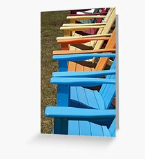 Adirondack Rainbow Greeting Card