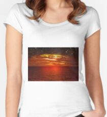 Night is Falling Women's Fitted Scoop T-Shirt