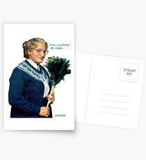 Mrs. Doubtfire Postcards