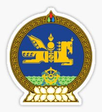 State Seal of Mongolia - Horse Country! Sticker