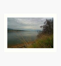 Lake hume in the evening Art Print
