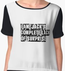 I Am Jack's Complete Lack of Surprise - Fight Club Chiffon Top