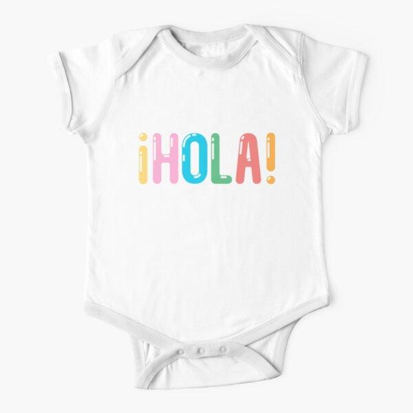 ¡Hola! Short Sleeve Baby One-Piece