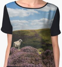 Hill Sheep Chiffon Top
