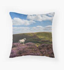 Hill Sheep Throw Pillow