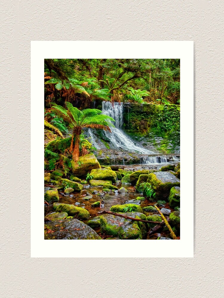 Alternate view of Horseshoe Falls Art Print