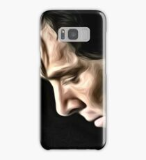 The Contemplative Consulting Detective Samsung Galaxy Case/Skin