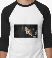 The Contemplative Consulting Detective Men's Baseball ¾ T-Shirt
