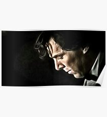 The Contemplative Consulting Detective Poster