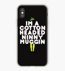 Baumwolle vorangegangen Ninny Muggin iPhone-Hülle & Cover