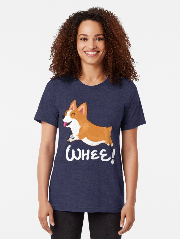 Alternate view of Whee! Tri-blend T-Shirt