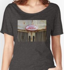 Vintage Ford 8N Tractor Grille Women's Relaxed Fit T-Shirt