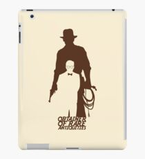 Obtainer of Rare Antiquities iPad Case/Skin