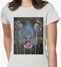 Panther Womens Fitted T-Shirt