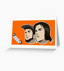 Game grumps Anime Heads Greeting Card