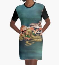 Relax Graphic T-Shirt Dress